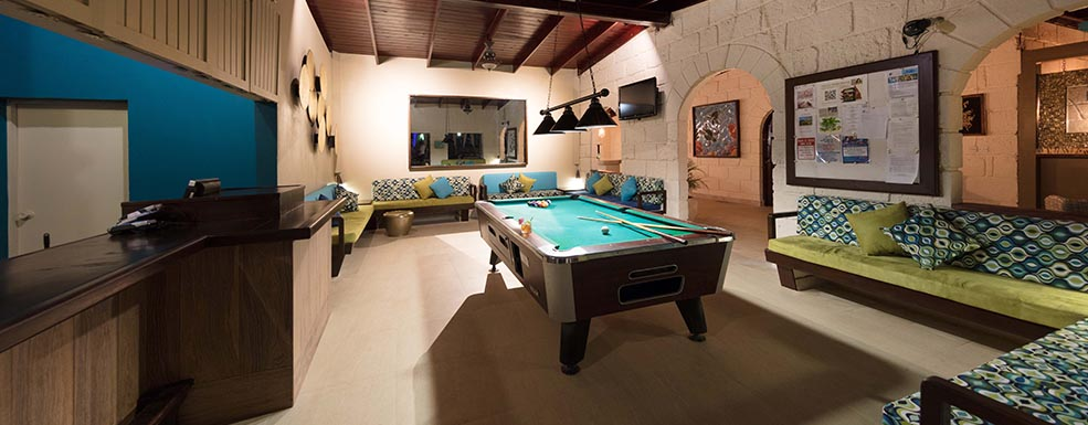 All Seasons Resort Barbados Pool Table